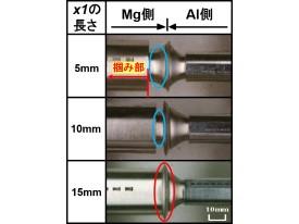 47 摩擦圧接法によるMg合金とAl合金との継手強度改善手法の検討