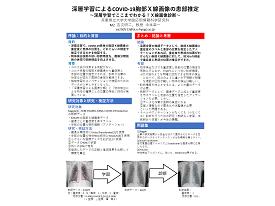 52 深層学習によるCOVID-19胸部X線画像の患部推定 ~深層学習でここまでわかる!X線画像診断~