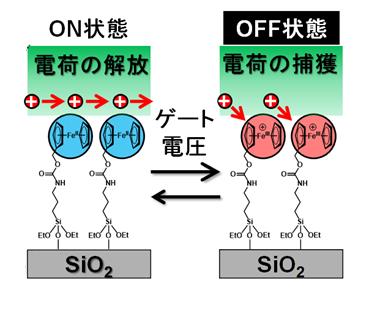 33 レドックス活性な単分子膜を有する不揮発性有機トランジスタメモリの開発 ~分子一層でメモリ機能を付与~